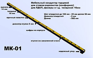 Мебельный шаблон МК 01 Черон
