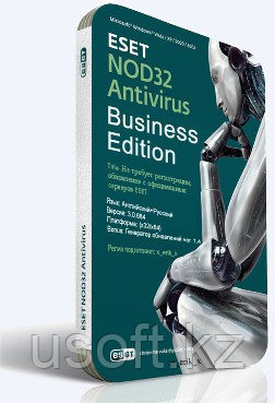 ESET NOD32 Antivirus Business на 55 ПК / ЕСЕТ НОД32 Антивирус для бизнеса на 55 ПК