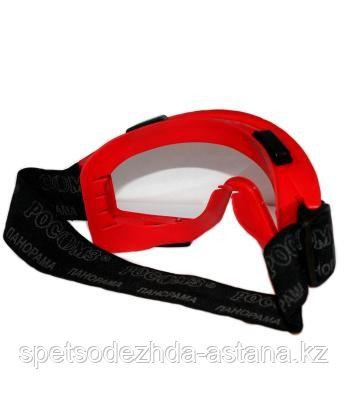 Очки закрытые против воздействия кислот и аггрессивных жидкостей с клапаном