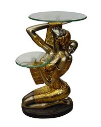 Декоративный стол-девушка с ребенком