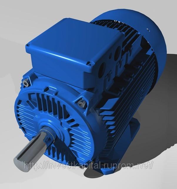 Электродвигатель 5,5 квт 1000 об.мин лапофланец