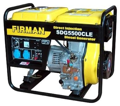 Бензиновые генераторы 4.5 кВт SDG5500CLE