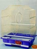 Клетка для мелких птиц, модель A 112 Gold, 30х23х39см, золотая