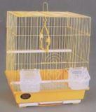Клетка для мелких птиц, модель А105 Gold, 30х23х39см, золотая