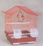 Клетка для мелких птиц, модель A111, 30х23х39см, крашенные