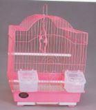 Клетка для мелких птиц, модель 113, 30х23х39см, крашенные