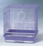 Клетка для мелких и средних птиц, модель 405, 35х28х46 см, золотая