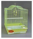 Клетка для мелких и средних птиц, модель А413 Gold, 34,5*28*47 см, золотая