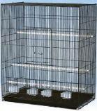 Клетка для средних попугаев, модель D611, 76*46*91 см, крашенная, фото 1