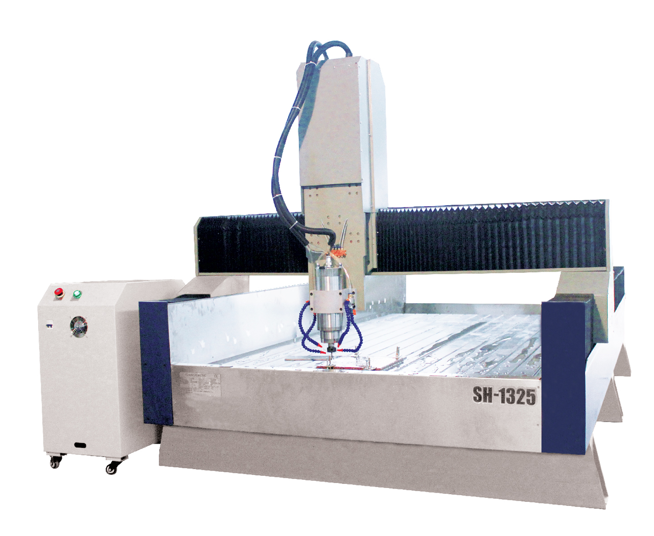 Камнеобрабатывающий фрезерно-гравировальный станок с ЧПУ 1300*2500*300мм - фото 1