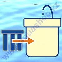 Монтаж водоочистителя (проточная система без умягчения)