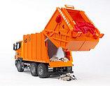 Мусоровоз Scania (цвет оранжевый) (подходит модуль со звуком и светом Bruder (Брудер)Артикул: 03-560, фото 5