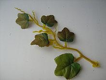 Искусственная зелень, листочки, веточки.