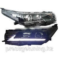 Передние фары на Corolla 2013-16 Lexus style