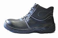 Ботинки из натуральной кожи с метал носком, спецобувь с металлическим подноском, фото 1