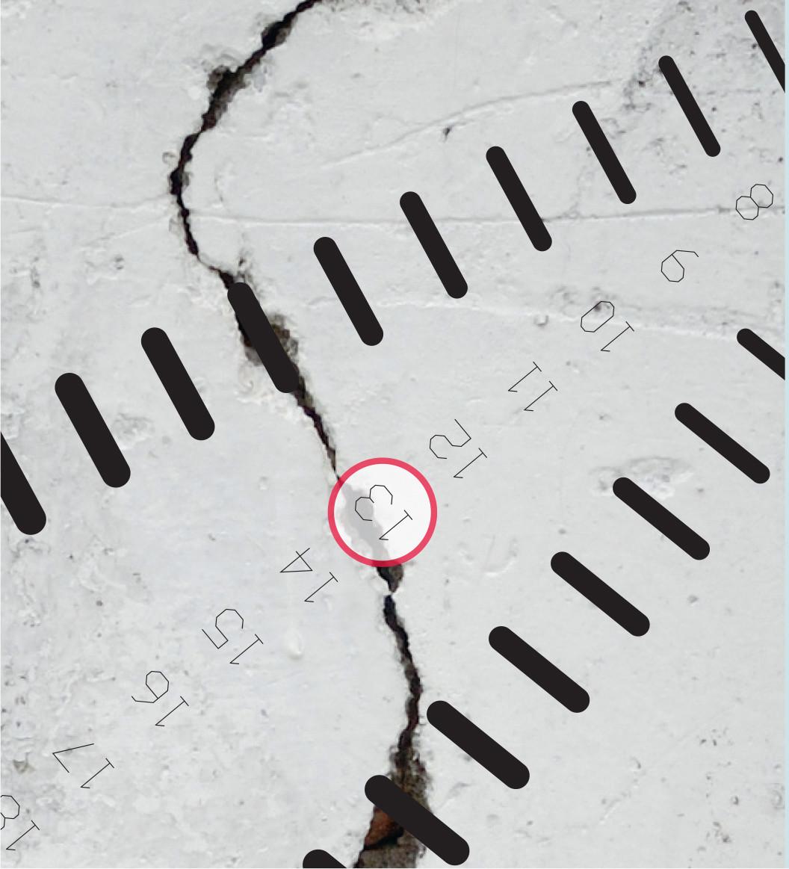 Система для дистанционных измерений трещин в бетоне Leica Viva TS11/TS15 KUMONOS