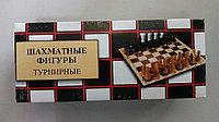 Фигуры шахматные турнирные деревянные диам. 30-35мм, высота 55-107мм, фото 1
