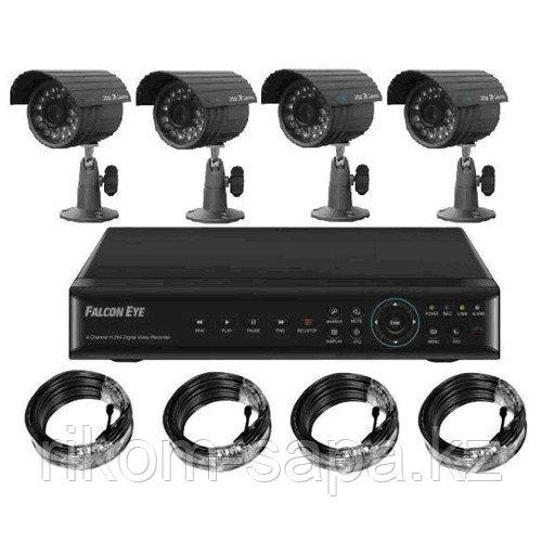 Система видеонаблюдения AHD с монтажем