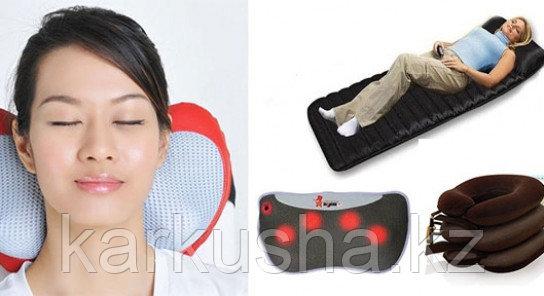 Массажная подушка с инфракрасным подогревом MJY-815
