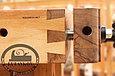Верстак столярный 2000*600мм, деревянный, с двумя тисками и лотком, фото 2