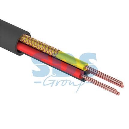 Шнур комбинированный ШВЭП (ШСМ) 4x0.12мм², 200м., черный REXANT, фото 2