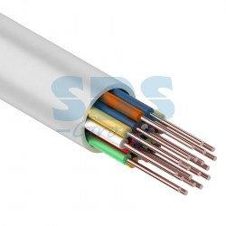 Кабель сигнальной проводки КСПВ 20х0.4 мм., 200м., белый  Паритет, фото 2