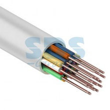 Кабель сигнальной проводки КСПВ 20х0.4 мм., 200м., белый  Паритет