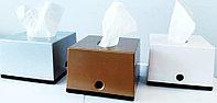 Диспенсер для настольных салфеток  с вертикальной вытяжкой