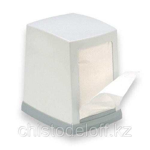 Диспенсер для настольных салфеток белый