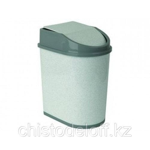 Контейнер для мусора  5л мраморный