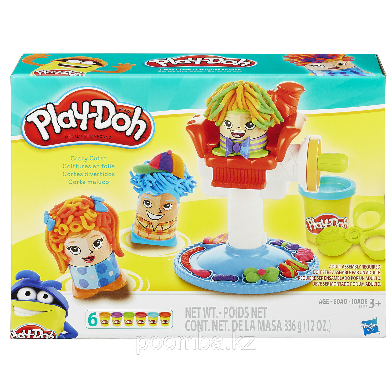 "Hasbro Play-Doh ""Сумасшедшие прически"""
