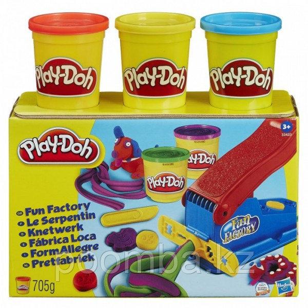 Play Doh Набор пластилина Фабрика веселья