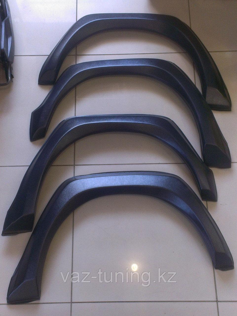 Накладки арок колес квадратные Лада Нива 2121