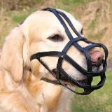 TRIXIE Намордник  для собак (Ротвейлер), кожа, L, ремешок для морды/головы: 27см/23см,черный