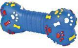 Trixie 3374 Игрушка винил, косточка,со звуком,  размер 15 см, различные цвета.
