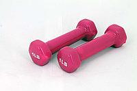 Гантели для фитнеса 1LB PINK, фото 1