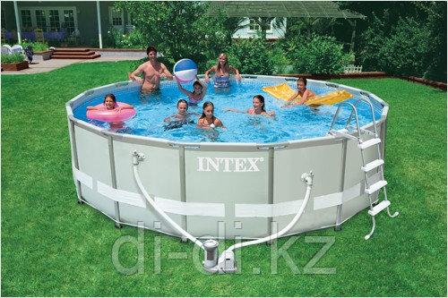 Каркасный сборный бассейн Intex Ultra Frame Pool.  488 х 122 см.