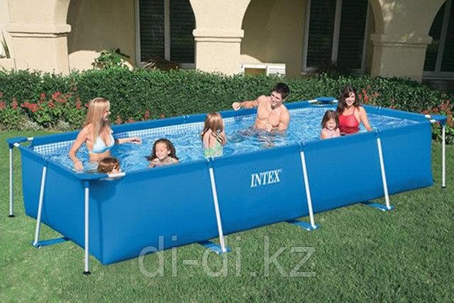Каркасный бассейн Intex. 4,5х2,2х0,84см.