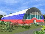 Строим здания арочного типа, ангар, склад, производственный цех, магазин, ларек, павильон, спорткомплекс, фото 3