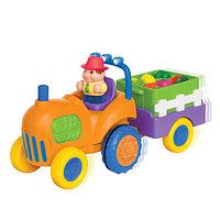 Kiddieland Музыкальный трактор с овощами