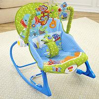 Кресло-шезлонг Слоник Fisher price, фото 1