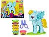 Игровой набор пластилина Стильный салон Рэйнбоу Дэш PLAY-DOH
