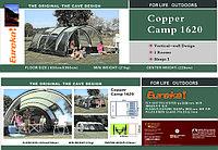 """Кемпинговая палатка 5 мест """"Eureka! CopperСamp 1620"""""""