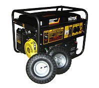 Электрогенератор  бензиновый HUTER DY6500LX (с колесами, с аккумулятором) 5 кВт, фото 1