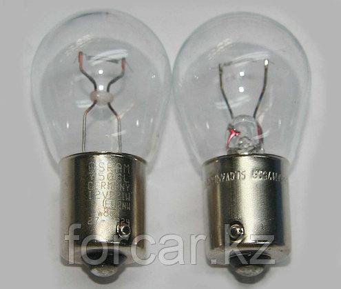 Лампы накаливания Osram P21W 12V 21W BA15S , фото 2