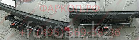 Фаркоп MB Sprinter ll / VW Crafter 3t,3.5t с 2006- твердое крепление, фото 2