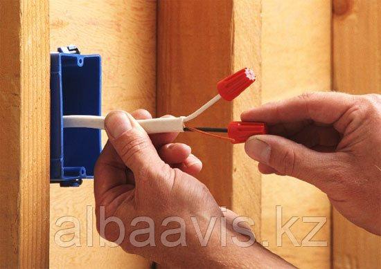 Прокладка кабеля, воздушным, подземным путем, штробление