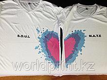 Нанесение фото, изображения, надписей, логотипа на футболки