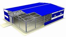 Строительство СТО, автомоек, складов, ангаров, гаражей из сэндвич-панелей.