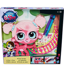 """Hasbro Littlest Pet Shop Игровой набор """"Укрась зверюшку"""""""